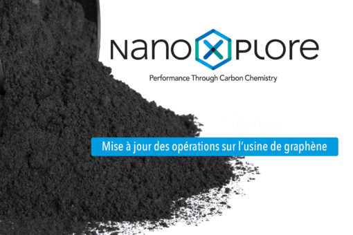 USINE DE GRAPHÈNE DE 10 000 TONNES de NanoXplore