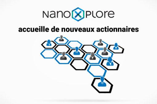 NanoXplore accueille de nouveaux actionnaires