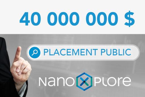 Placement public de 40 000 000 NanoXplore