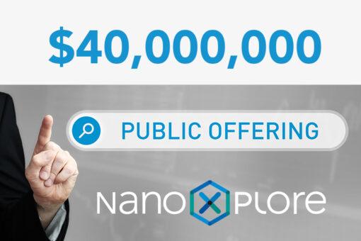NanoXplore 40 000 000 public offering