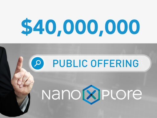 NanoXplore 40 000 000 public offering